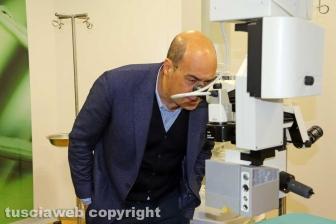 Viterbo - Belcolle - Nuove sale operatorie - Nicola Zingaretti