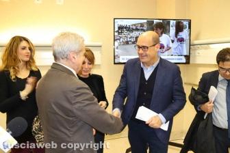 Viterbo - Belcolle - Nuove sale operatorie - Arena e Zingaretti