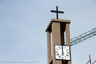 La benedizione delle campane di Villanova - Il campanile della chiesa