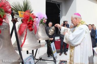 La benedizione delle campane di Villanova
