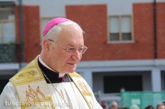 La benedizione delle campane di Villanova - Il vescovo Lino Fumagalli