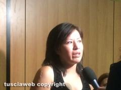 Tribunale - Bimbi maltrattati, la maestra patteggia - Sandra Rodriguez, una delle mamme, in lacrime