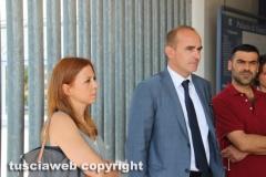 Tribunale - Bimbi maltrattati, la maestra patteggia - I genitori dei bambini con il loro avvocato