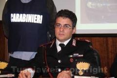 Il maresciallo Paolo Lonero, comandante dei carabinieri di Soriano nel Cimino