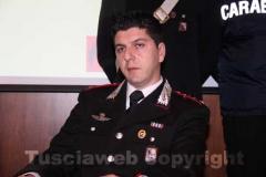 Il capitano del Nucleo investigativo Giovanni Martufi che, all\'epoca dell\'inizio dell\'indagine coordinava il Nucleo operativo