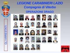 Operazione Drago - Gli arrestati