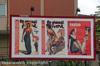 Viterbo - Boccasile, maestro dell'erotismo fascista - Via della Palazzina