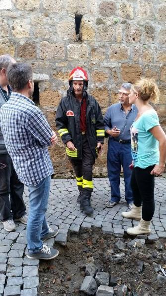 Maltempo - Bomba d\'acqua a Tuscania