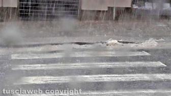 Bomba d'acqua e grandine, i danni