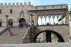 Turisti a Viterbo il 25 aprile