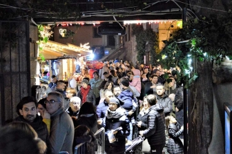 Boom di visite nel weekend al Caffeina Christmas village
