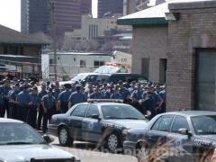 I poliziotti per le strade di Boston