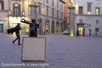 Viterbo - Bruno Barbieri nella città dei Papi