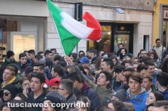 Buona scuola, studenti in piazza