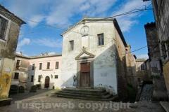 Calcata - Chiesa parrocchiale