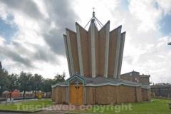 Calcata - Chiesa di san Cornelio