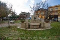 Il parco pubblico di Calcata