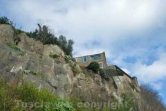 Le pareti di Calcata vecchia