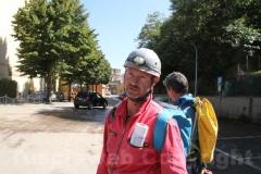 Gli speleologi mandato dalla Regione Lazio