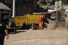 La protezione civile al lavoro