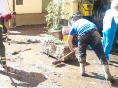 I canepinesi ripuliscono via Viterbo