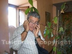 Il presidente della Provincia Marcello Meroi alla riunione dell\'unità di crisi