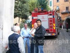 Il sindaco Palozzi con i suoi concittadini
