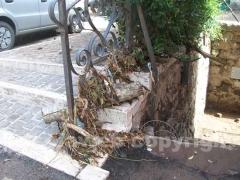 Fango e detriti per le strade di Canepina