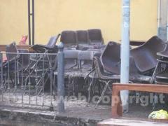 Le sedie della chiesa di San Michele arcangelo