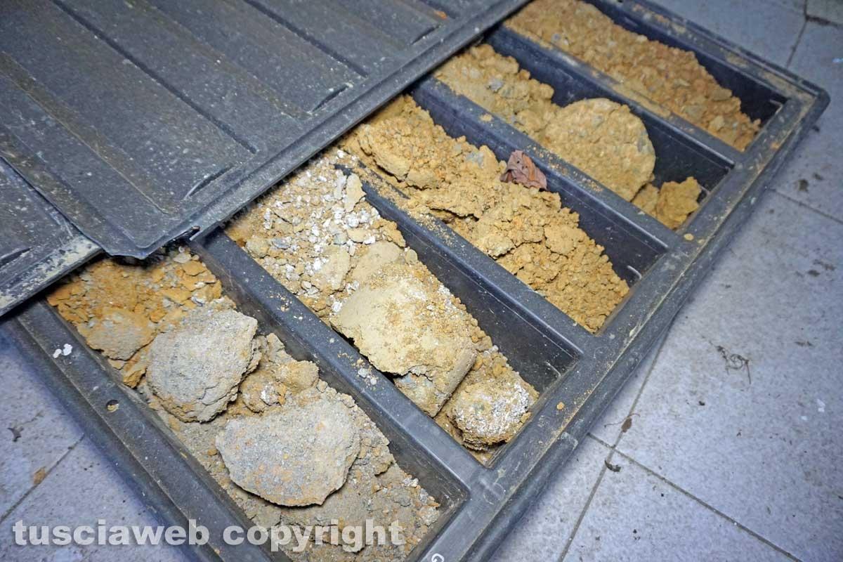 I carotaggi abbandonati della Chemical city