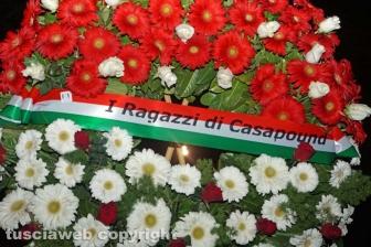 """CasaPound celebra il """"Giorno del Ricordo"""""""