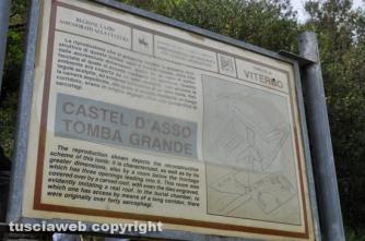 Viterbo - Castel D\'Asso dimenticato