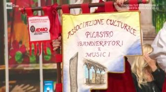 Caterina Del Citto e Gianluca Eterno ospiti ai Fatti vostri