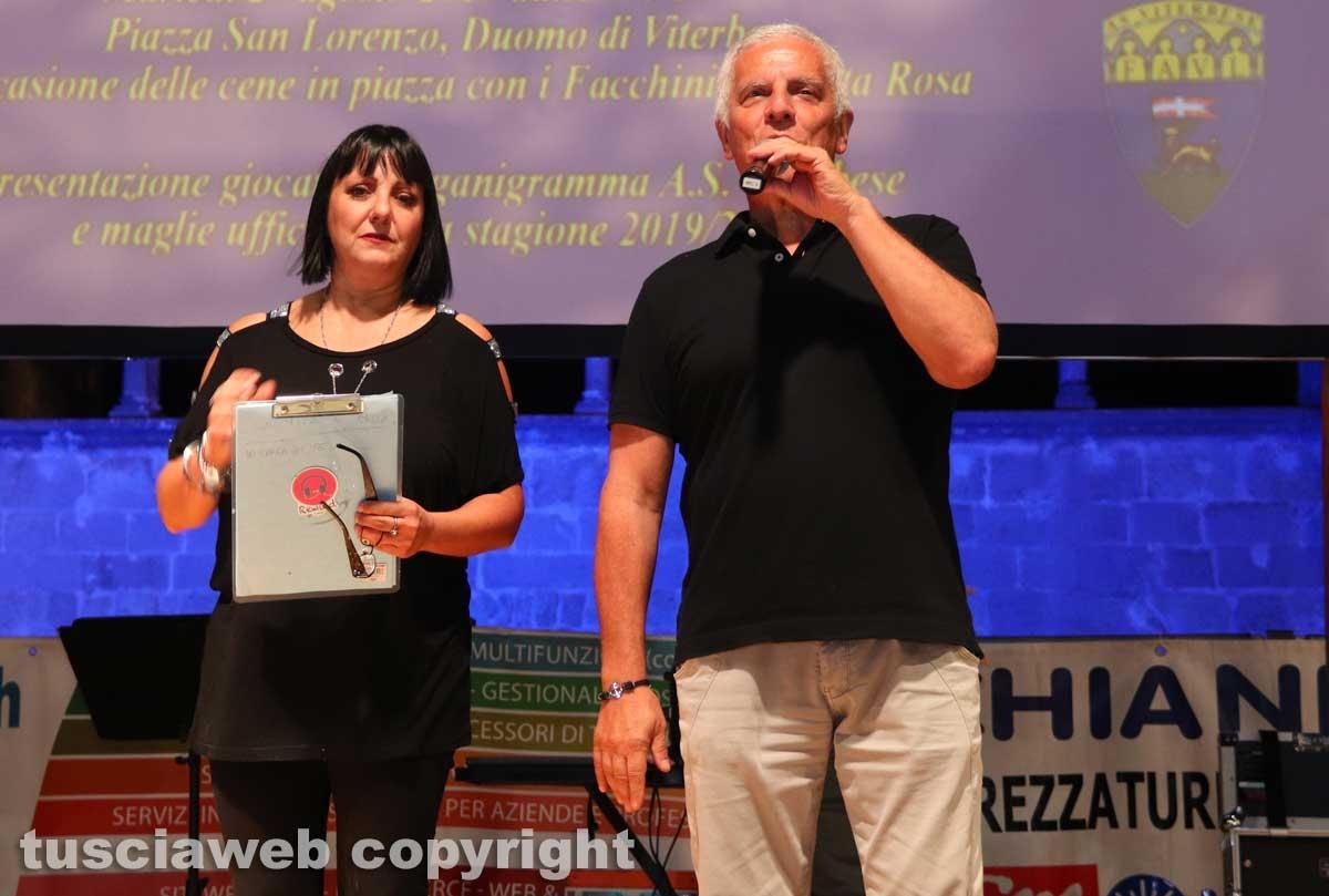 Laura Leo e Massimo Mecarini