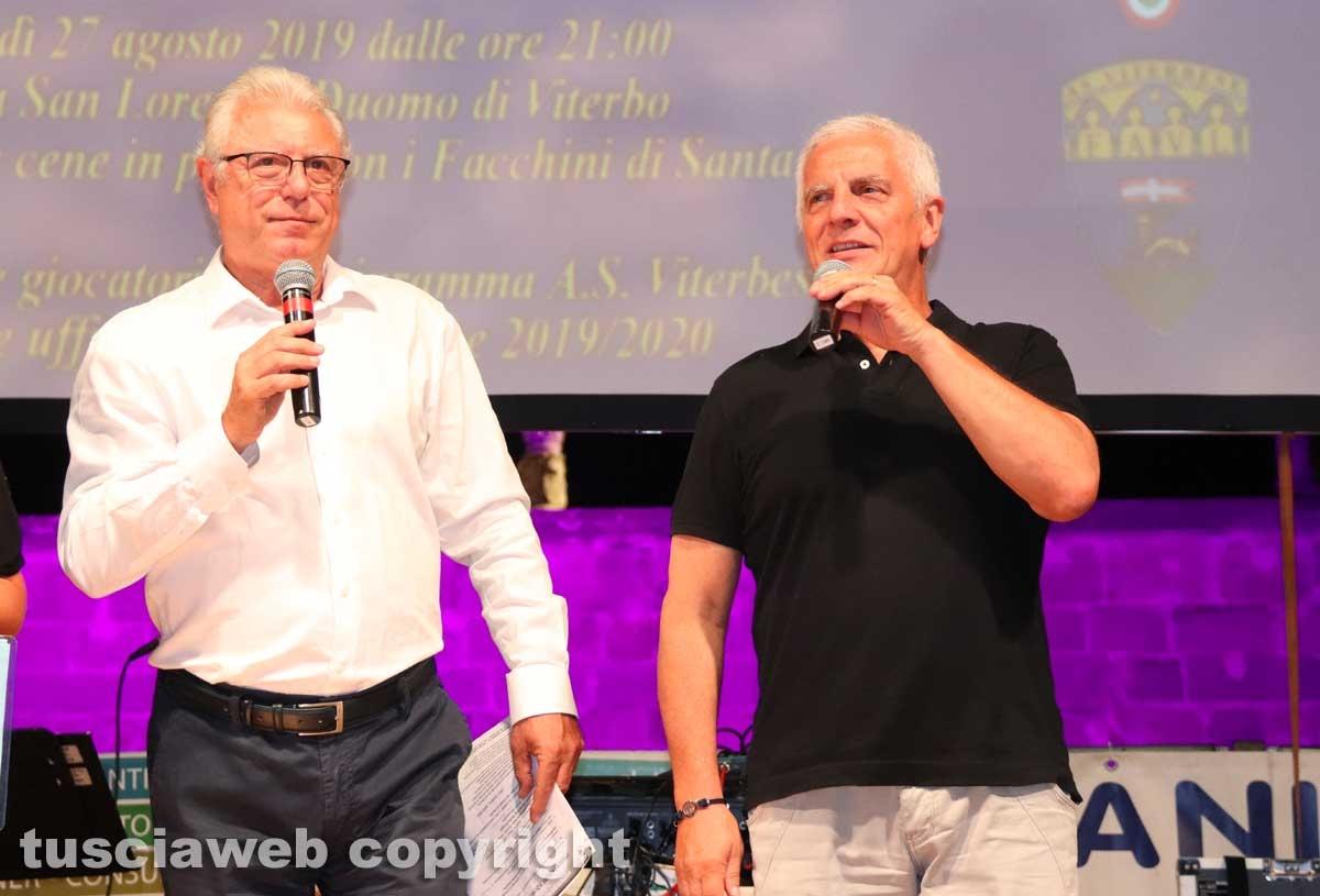 Claudio Petricca e Massimo Mecarini