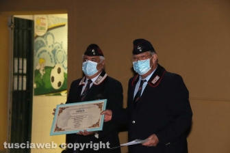 Viterbo - Cerimonia per ringraziare gli operatori sanitari del Belcolle