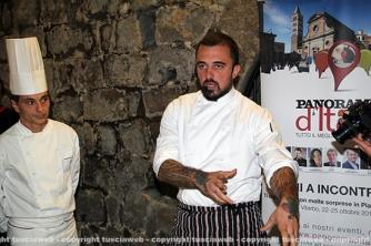 Chef Rubio a palazzo dei Papi