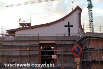 Chiesa dei santi Ilario e Valentino - Il cantiere