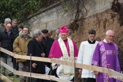 Posa della prima pietra della chiesa di Villanova