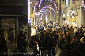 Viterbo - Christmas shopping night