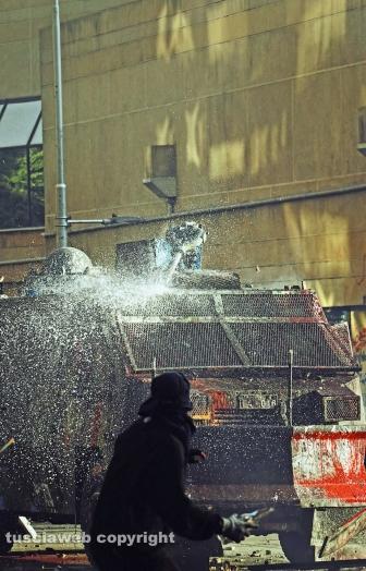 Cileni ancora in rivolta