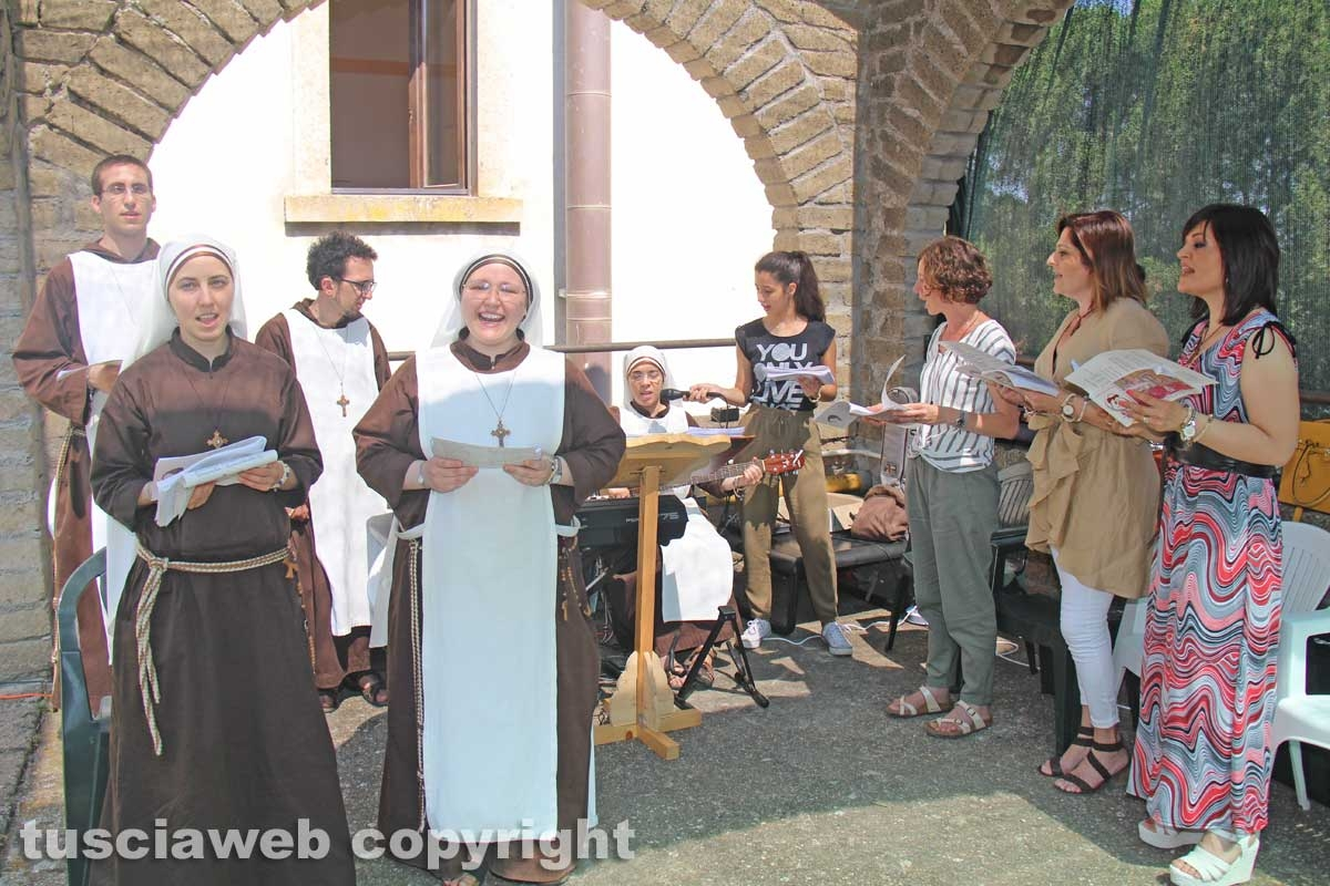 Viterbo - La celebrazione alla comunità della Quercia