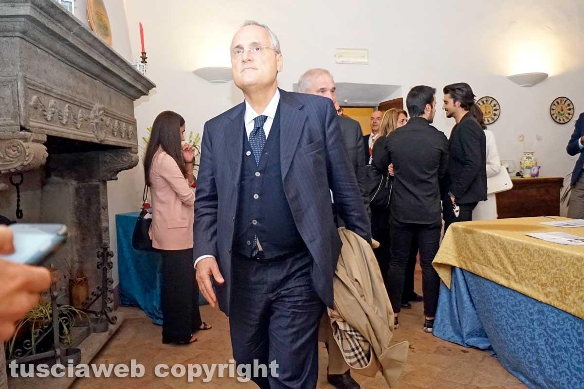 Claudio Lotito a Mugnano in Teverina