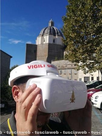 Col drone sulla cupola di santa Margherita