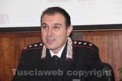 Il capitano della compagnia di Tuscania Massimo Cuneo