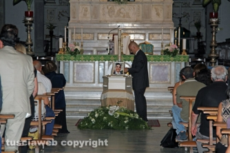 Commozione e affetto per Giuseppe Centamore