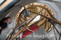 Macchina di santa Rosa - Consegna dei ciuffi e prove