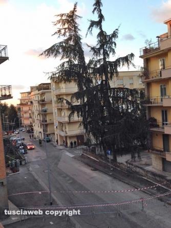 Viterbo - Via Monte Sacro chiusa