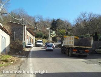 Maltempo - San Martino - Strada Croce di San Martino riaperta