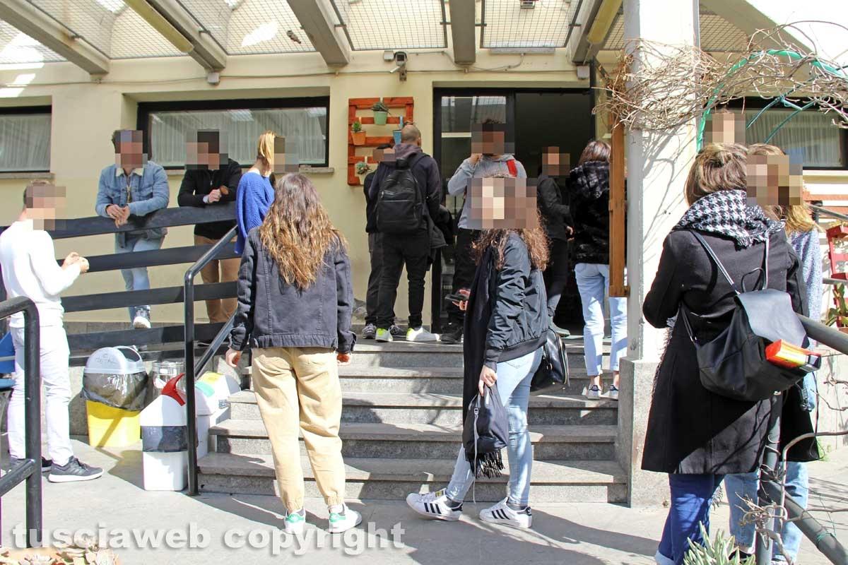 Viterbo - Casa dello studente via Cardarelli